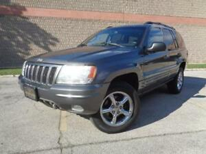2003 Jeep Grand Cherokee Overland, LOADED, LEATHER, 416-742-5464