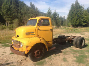 WANTED TO BUY 40's-50's  CAB OVER