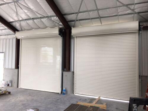 10 x 10 Rolling Steel Door Fire Rated UL label 3 Hours Fire Roll up Door