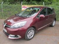 Renault Scenic 1.5 Dynamique TomTom DCi 110 Turbo Diesel MPV (damask red) 2015