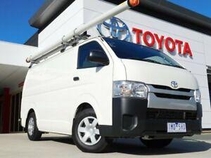 2017 Toyota HiAce KDH201R LWB White 4 Speed Automatic Van Greenway Tuggeranong Preview