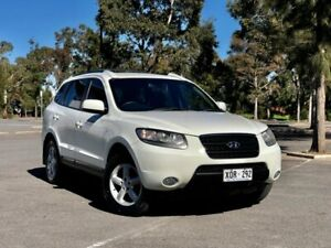 2007 Hyundai Santa Fe CM MY07 SLX White 5 Speed Sports Automatic Wagon Mile End South West Torrens Area Preview