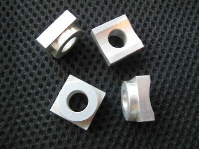 Rail Spacers For A Delta Unisaw - All New - Set Of Four - Cnc Machined Aluminum