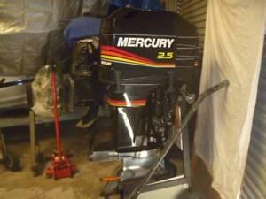 Mercury 2.5 Litre (Carb.) High Performance MOD VP Outboard :