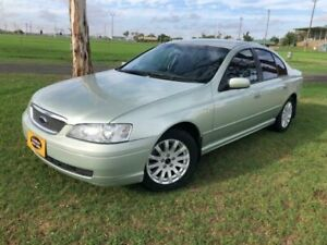 2002 Ford Fairmont BA Ice Mint Silver 4 Speed Automatic Sedan