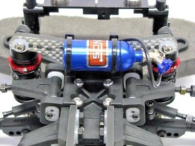 RC 1/10 Scale Accessories METAL NITROUS NOS BOTTLE Drift Car On Road