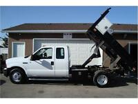 2007 FORD F350 XLT SUPERCAB 9FT DUMP DECK 2-WD 162K ONLY $18,900