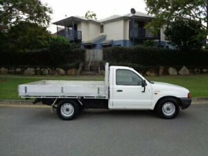 2001 Ford Courier PE GL White 5 Speed Manual Utility Chermside Brisbane North East Preview