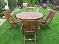 Garden table and chairs ALEXANDER ROSE EXCELLENT CONDITION
