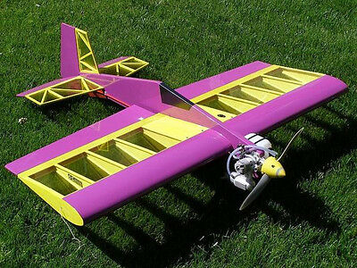 Fun Fly Profile Hots Aerobatic Sport Plane Plans  Templates   Instructions 40Ws