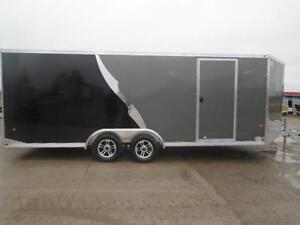 8.5 X 20 NEO CAR HAULER - ALL ALUMINUM, TONS OF FEATURES! London Ontario image 3