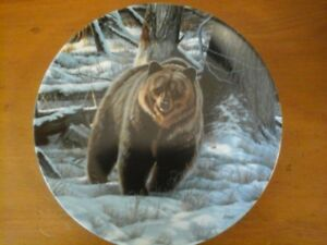 The Grizzly Bear Bradex Plate 1988