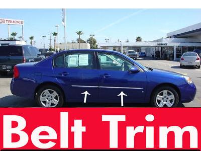 Chevy Chevrolet MALIBU CHROME SIDE BELT TRIM DOOR MOLDING 2004-2008 2009-2012