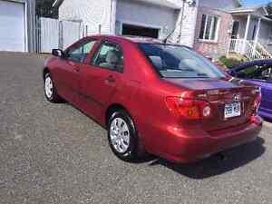 PRIX RÉDUIT! 2800$ Toyota corolla CE 2003 manuel condition A1