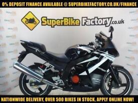 2017 DAELIM ROADSPORT 125CC 0% DEPOSIT FINANCE AVAILABLE