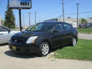 2009 NISSAN SENTRA 2.0S, HAS SAFETY AND WARRANTY $4,950
