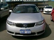 2010 Kia Cerato TD MY 11 Silver Automatic Sedan Wangara Wanneroo Area Preview