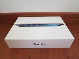 **BRAND NEW** IPAD AIR + 4G, WIFI + CELLULAR (ALL NETWORKS/SIMFREE), 16GB,INCLUDES 5 MONTHS WARRANTY