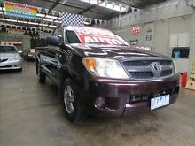 2005 Toyota Hilux GGN15R SR Purple 5 Speed Automatic Mordialloc Kingston Area Preview
