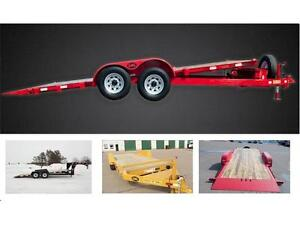 LWL, tilt deck, deck overs, dumps, equipment haulers, landscaper