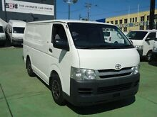 2007 Toyota Hiace TRH201R MY07 Upgrade LWB White 5 Speed Manual Van Canada Bay Canada Bay Area Preview