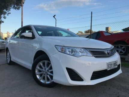 2015 Toyota Camry ASV50R Altise White 6 Speed Automatic Sedan Para Hills West Salisbury Area Preview