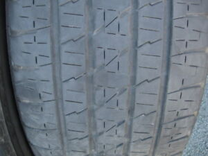 SET OF 4 285/45R22 TIRES.$120 FOR THE SET