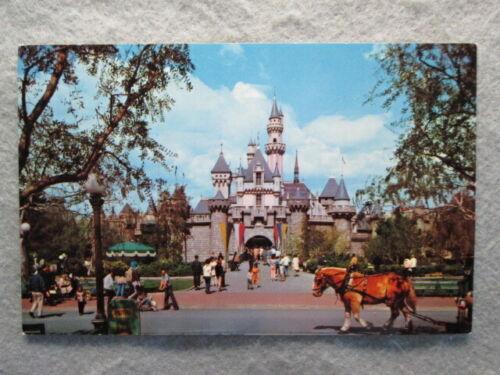 Vintage Sleeping Beauty Castle, Disneyland Postcard