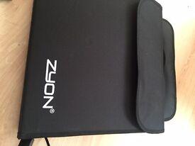 Portable Photo Home Studio inc. 4 colour Background, Tent, Tripod, 2 Lamps & Soft Carry Bag