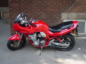 Trade motorcycle for atv, sea doo, boat, or tent trailer.