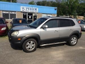 2006 Hyundai Tucson GL Fully Certified! No Accidents!