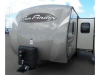 2016 Fun Finder 242 BDS - DOUBLE OVER DOUBLE BUNKS!!