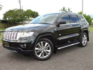 2011 Jeep Grand Cherokee WK Limited 70th Anniversary (4x4) Black 5 Speed Automatic Wagon Bungalow Cairns City Preview