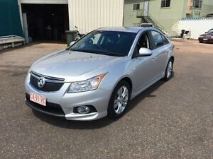 2013 Holden Cruze JH MY13 SRi Silver 6 Speed Manual Sedan Berrimah Darwin City Preview