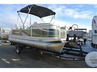 Pontoon season is here. Come take a look today! call Tristan