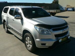 2013 Holden Colorado RG MY13 LTZ (4x4) Silver 6 Speed Automatic Crew Cab P/Up Dubbo Dubbo Area Preview