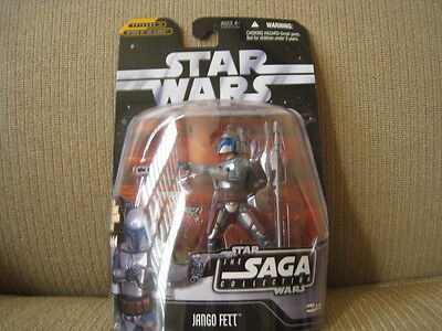 Star Wars Saga Collection Jango Fett Action Figure