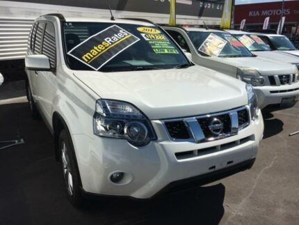 2013 Nissan X-Trail T31 Series V TS White 6 Speed Sports Automatic Wagon