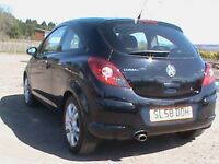 VAUXHALL CORSA 1.2 SXI 3 DR BLACK,1 YRS MOT,CLICK ON VIDEO LINK TO SEE AND HEAR MORE ABOUT THIS CAR