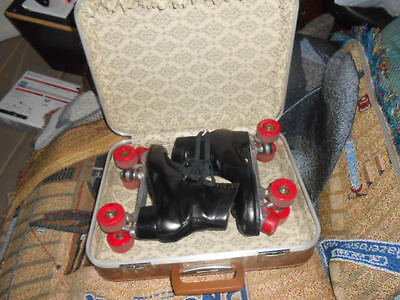 Chicago Black Roller Skates with Imperial Wheels Size 9