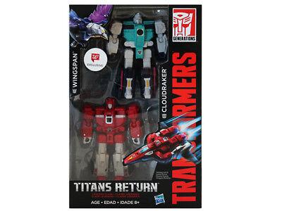 Transformers Titans Return Wingspan   Cloudraker 2 Pack Walgreens Nib