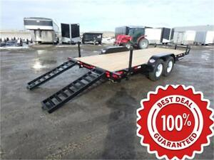 14K - 18' AND 20' EQUIPMENT TRAILERS BY CANADA TRAILERS *TAX IN*