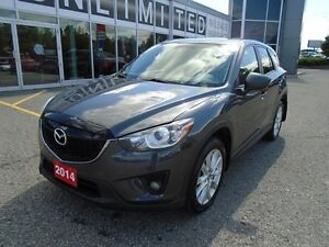 2014 Mazda CX-5 **BOSE, HID LIGHTS & LEATHER!** LOADED GT AWD