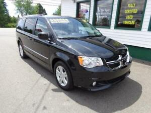 2016 Dodge Grand Caravan Crew Plus only $219 bi-weekly all in!