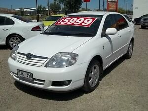 2006 Toyota Corolla ZZE122R 5Y Ultima 4 Speed Automatic Sedan Murray Bridge Murray Bridge Area Preview