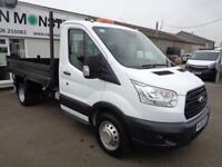 Ford Transit 2.2 Tdci 100Ps TIPPER DIESEL MANUAL WHITE (2014)