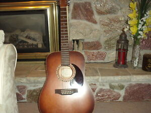 Art and Lutherie 12 String Acoustic Guitar with pickup Kawartha Lakes Peterborough Area image 1
