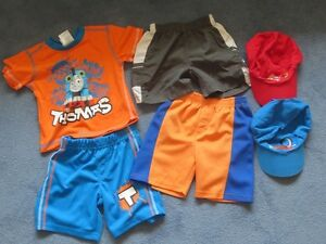 3T Adidas Shorts & 2T Summer Clothes