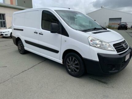 2009 Fiat Scudo White 6 Speed Manual Van Southport Gold Coast City Preview