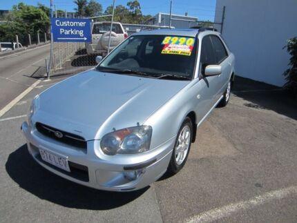 2005 Subaru Impreza S MY05 GX AWD Silver 4 Speed Automatic Hatchback